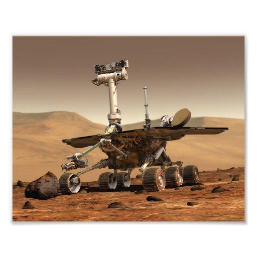 Mars Rover Photo Art