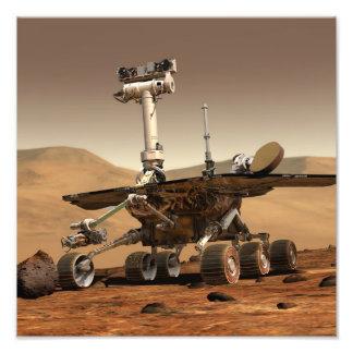 Mars Rover Photograph