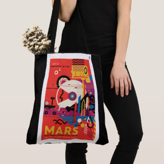 MARS  See the Sights Tote Bag