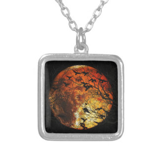 Mars Silver Plated Necklace