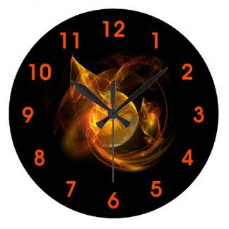 Mars Spectacular Large Clock