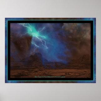 Mars Storm Poster