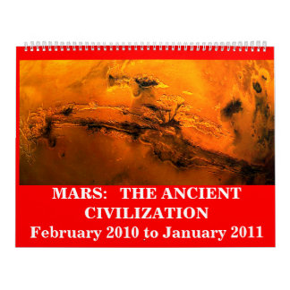 Mars:  the Ancient Civilization Wall Calendars