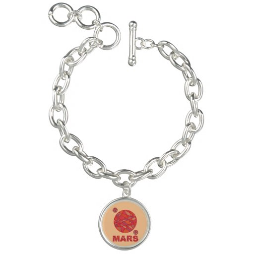 Mars The Red Planet Space Geek Bracelet Jewelry