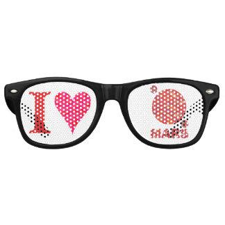 Mars The Red Planet Space Geek I Heart Mars Wayfarer Sunglasses