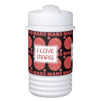 Mars The Red Planet Space Geek I Love Mars Custom Igloo Beverage Dispenser