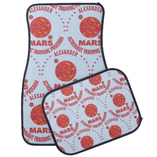 Mars The Red Planet Space Geek Solar System Fun Auto Mat