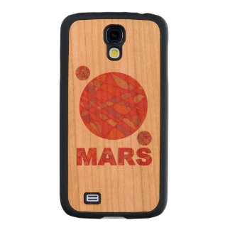 Mars The Red Planet Space Geek Solar System Fun Carved® Cherry Galaxy S4 Slim Case