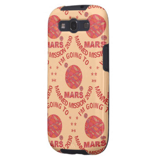 Mars The Red Planet Space Geek Solar System Fun Samsung Galaxy SIII Case