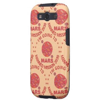 Mars The Red Planet Space Geek Solar System Fun Samsung Galaxy SIII Case