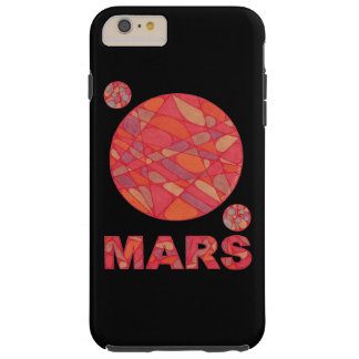 Mars The Red Planet Space Geek Solar System Fun Tough iPhone 6 Plus Case