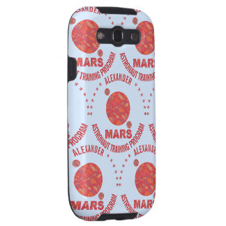 Mars The Red Planet Space Geek Solar System Fun Galaxy SIII Cover