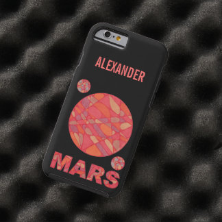 Mars The Red Planet Space Geek Solar System Fun Tough iPhone 6 Case