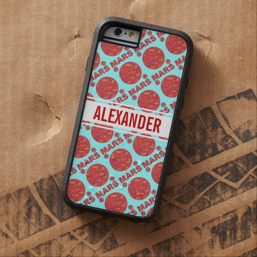 Mars The Red Planet Space Geek Solar System Fun iPhone 6 Case