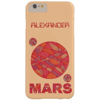 Mars The Red Planet Space Geek Solar System Fun Barely There iPhone 6 Plus Case