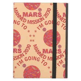 Mars The Red Planet Space Geek Solar System Fun iPad Air Cover