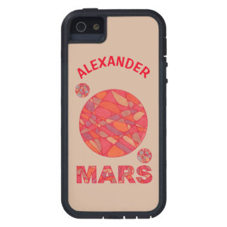Mars The Red Planet Space Geek Solar System Fun iPhone 5 Cases