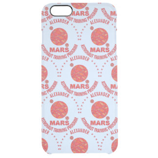 Mars The Red Planet Space Geek Solar System Fun Uncommon Clearly™ Deflector iPhone 6 Plus Case