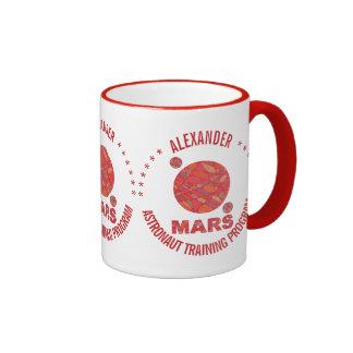 Mars The Red Planet Space Geek Solar System Fun Mug
