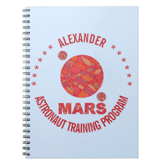Mars The Red Planet Space Geek Solar System Fun Note Books