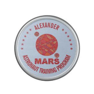 Mars The Red Planet Space Geek Solar System Fun Speaker