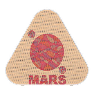Mars The Red Planet Space Geek Solar System Fun Blueooth Speaker