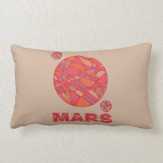 Mars The Red Planet Space Geek Solar System Fun Pillows