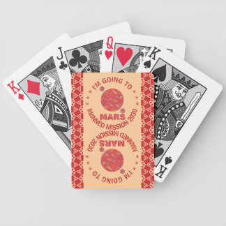 Mars The Red Planet Space Geek Solar System Fun Poker Deck