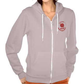 Mars The Red Planet Space Geek Solar System Fun Pullover