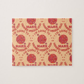 Mars The Red Planet Space Geek Solar System Fun Jigsaw Puzzles