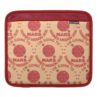 Mars The Red Planet Space Geek Solar System Fun Sleeves For iPads