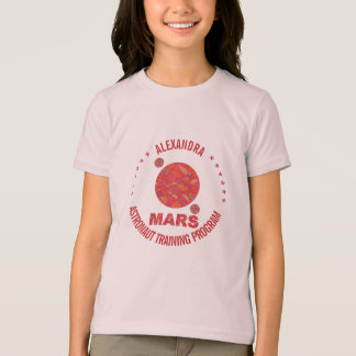 Mars The Red Planet Space Geek Solar System Fun T-shirts