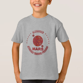 Mars The Red Planet Space Geek Solar System Fun Tee Shirts