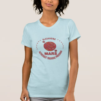 Mars The Red Planet Space Geek Solar System Fun Tee Shirt