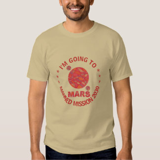 Mars The Red Planet Space Geek Solar System Fun Tshirts