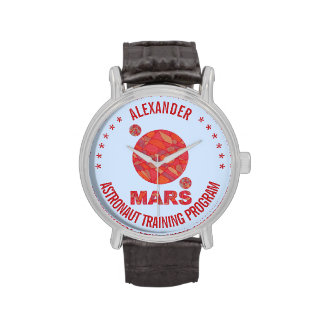 Mars The Red Planet Space Geek Solar System Fun Watch