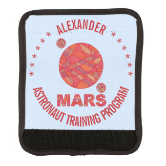 Mars The Red Planet Space Geek Solar System Fun Handle Wrap