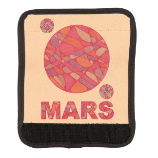 Mars The Red Planet Space Geek Solar System Handle Wrap