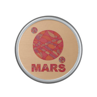 Mars The Red Planet Space Geek Solar System Speaker
