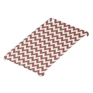 Marsala Cream Beige Chevron Pattern Cover For The iPad Mini