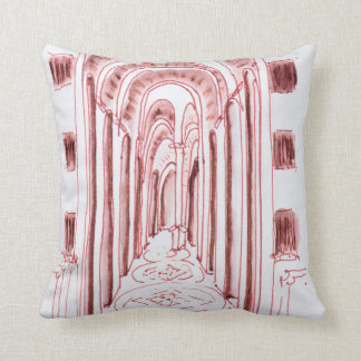 Marseille Cathedral | Marseille, France Throw Pillow