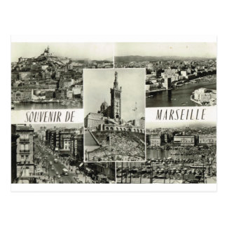 Marseille, early multiview postcard