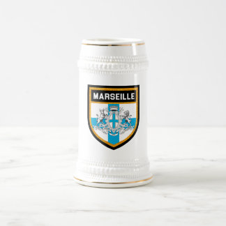 Marseille Flag Beer Stein