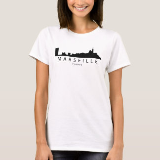 Marseille France Skyline T-Shirt