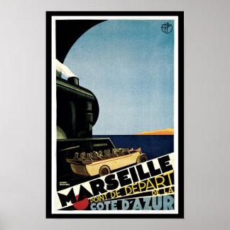 Marseille ~ Point de Depart Poster