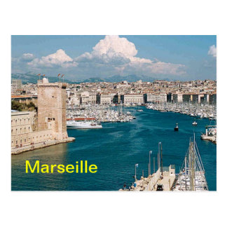 Marseille postcards