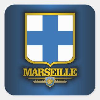 Marseille Square Sticker