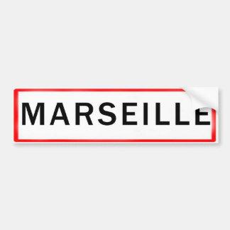 MARSEILLES BUMPER STICKER