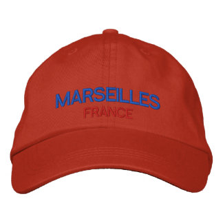 Marseilles France Personalized Adjustable Hat