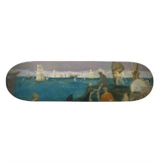 Marseilles, Gateway to the Orient by Puvis Skateboard Deck